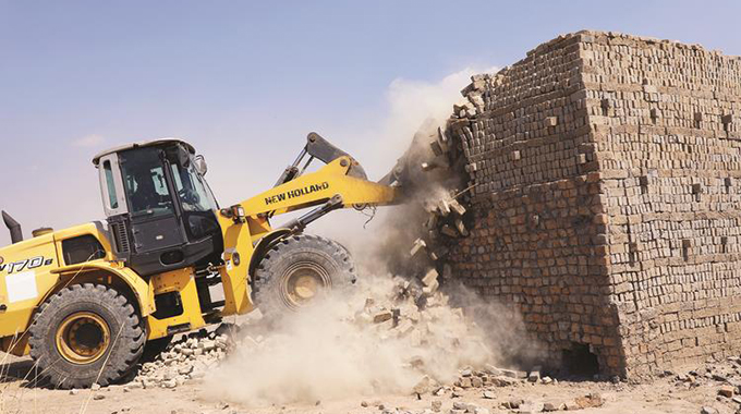 Illegal brick moulders raided