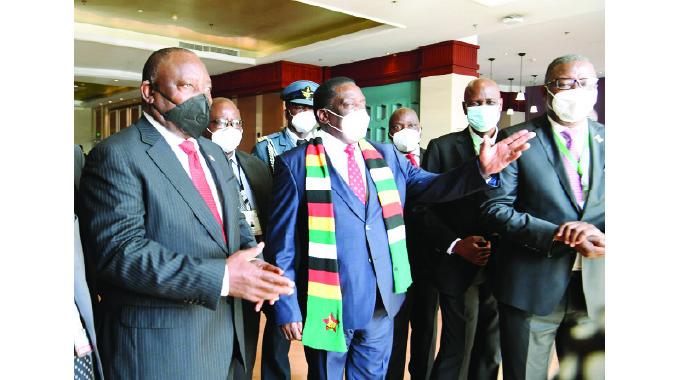 President, Ramaphosa hold talks