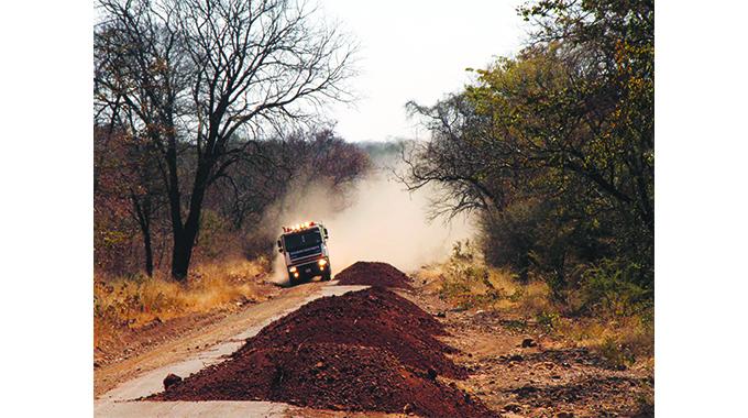 Byo-Nkayi road rehab on course