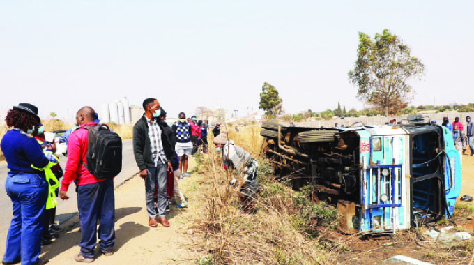 Passengers injured in bus accident