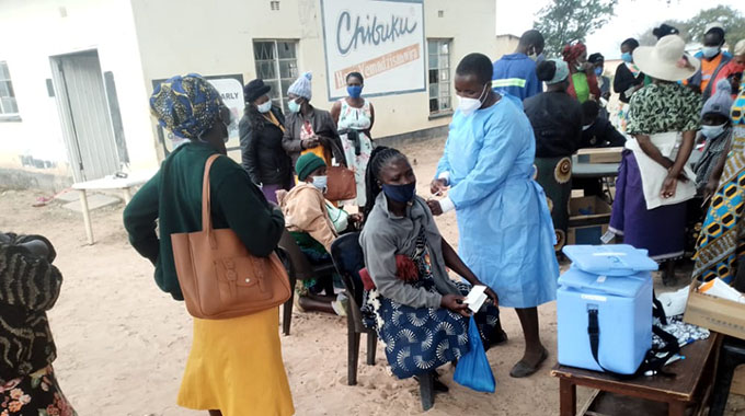 800 Chivi villagers get Covid-19 jabs after firm's intervention