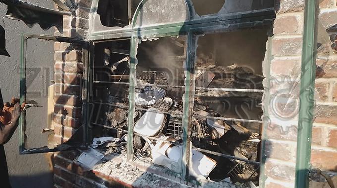 Fire destroys SMEs mall in Karoi