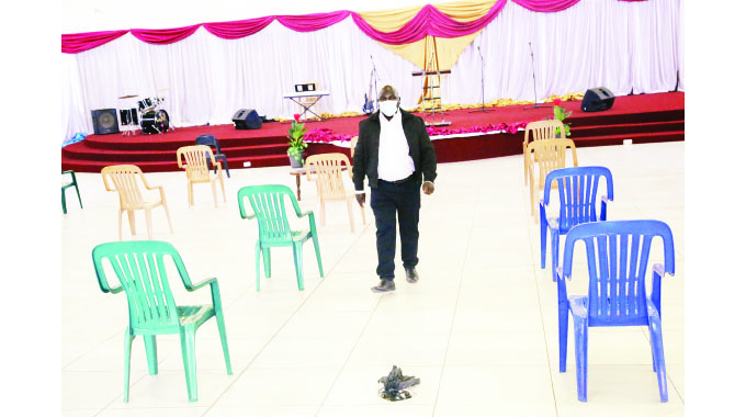 Low turnout as churches resume service