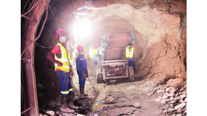 Dande dam construction gathers momentum