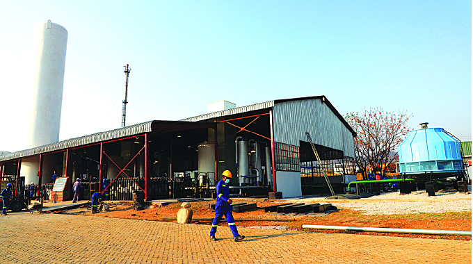 Zim reaches major milestone with first oxygen plant