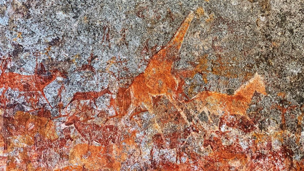 Matobo has one of Southern Africa's largest concentration of rock art, with paintings up to 12,000 years old (Credit: brytta/Getty Images)
