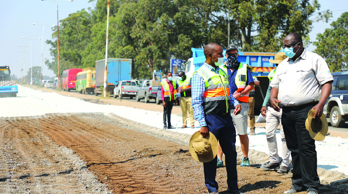40 roads under rehab in Harare