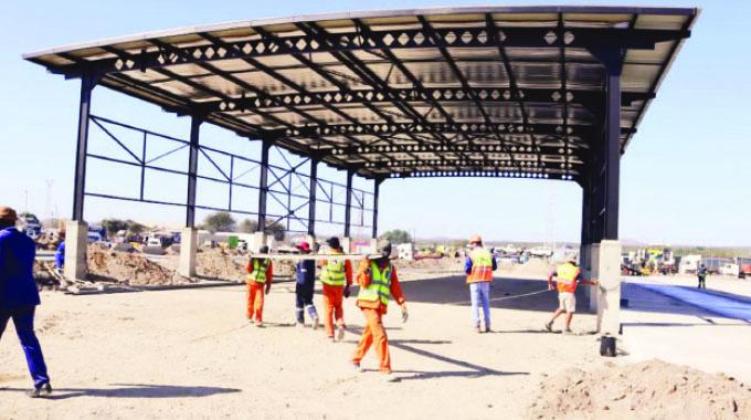 New Beitbridge freight terminal opens next month