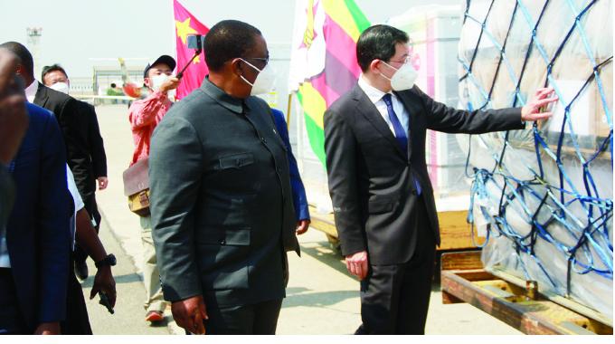 Zim, China bond unbreakable: VP