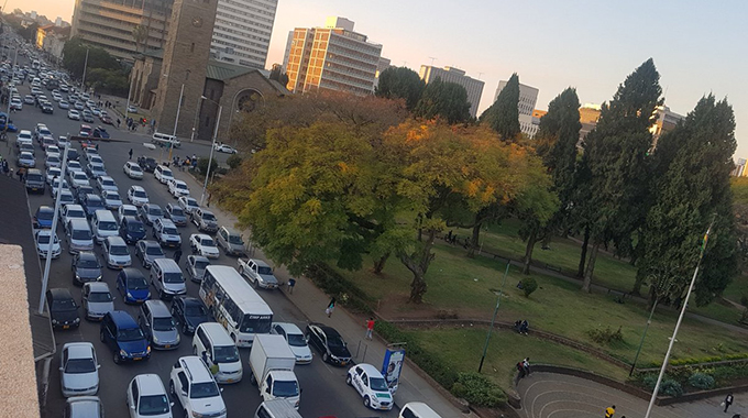 1, 5 million cars moving in Harare CBD