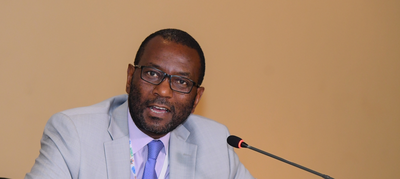 Munyaradzi Chenje, the outgoing Regional Director, Regional Office for Africa.