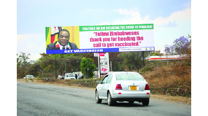 President salutes Zimbabweans for heeding vaccination call