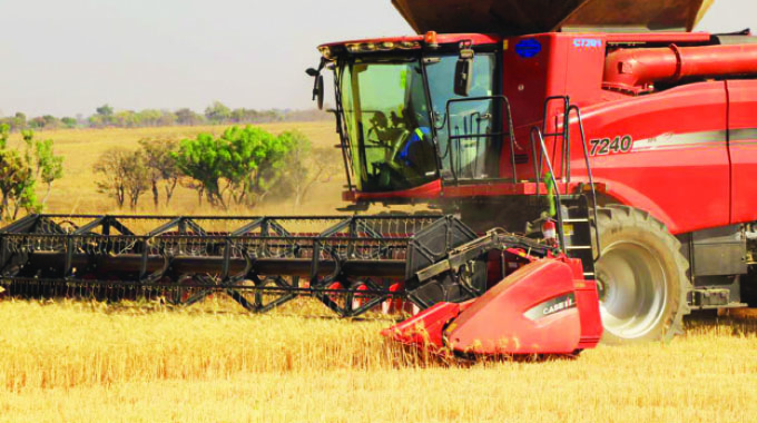 All in place for wheat harvesting