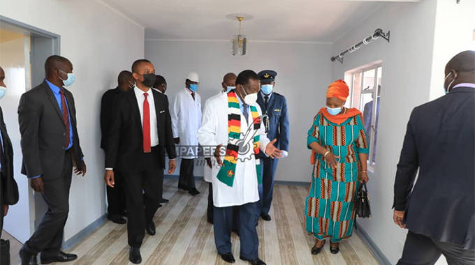 President commissions housing project