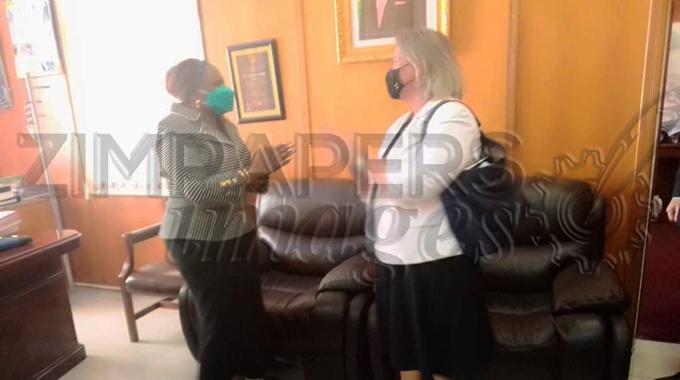 Canada ambassador to Zim meets Minister Mutsvangwa