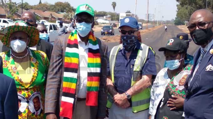 Zanu PF VP Mohadi, leadership tours Seke Road