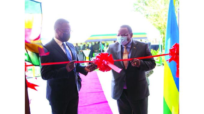 Embassy building in Rwanda commissioned