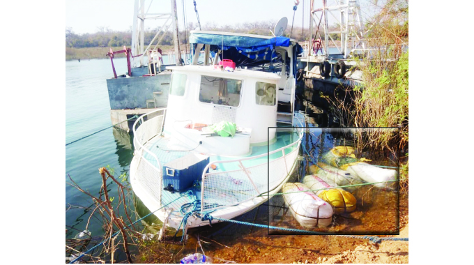 Boat mishap uncovers smuggling