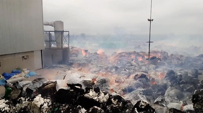 Cottco loses US$2,5m lint to fire at depot