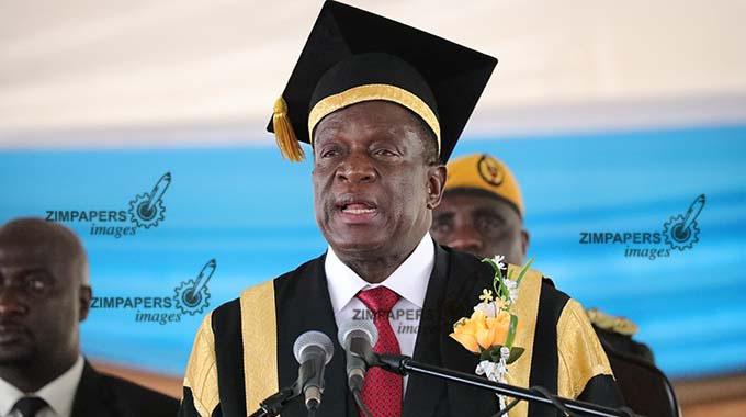 President Mnangagwa caps 350 HIT graduates