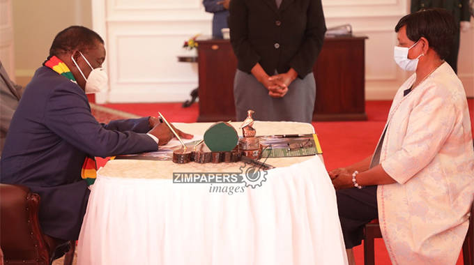 New Education Minister sworn-in