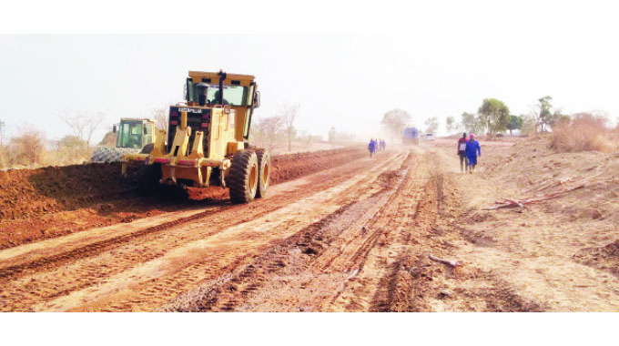 DDF committed to Binga road upgrade targets